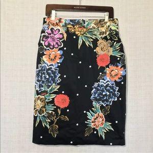 Barashi women's pencil skirt floral